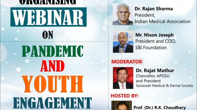 AP Goyal Shimla University to organize a webinar to empower youth for the growth of nation building