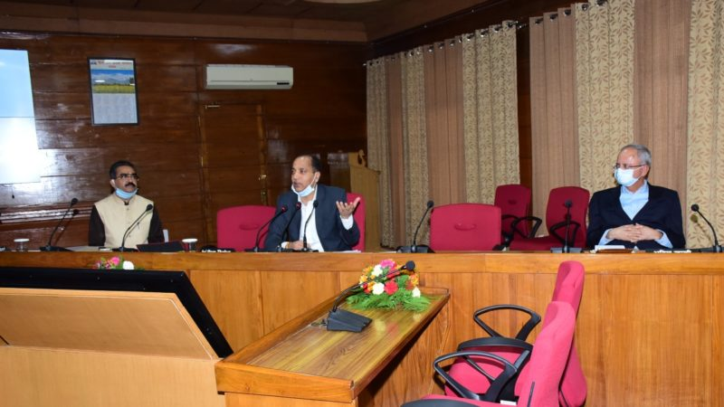 CM presides over meeting with various Industrial Associations for recovery of industrial sector