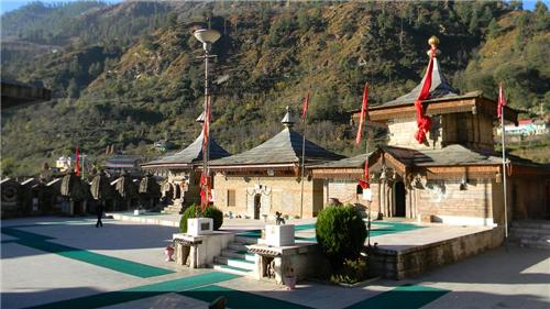 Magnificent Hatkoti Temple in Shimla
