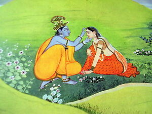 Art of legend India: Kangra paintings
