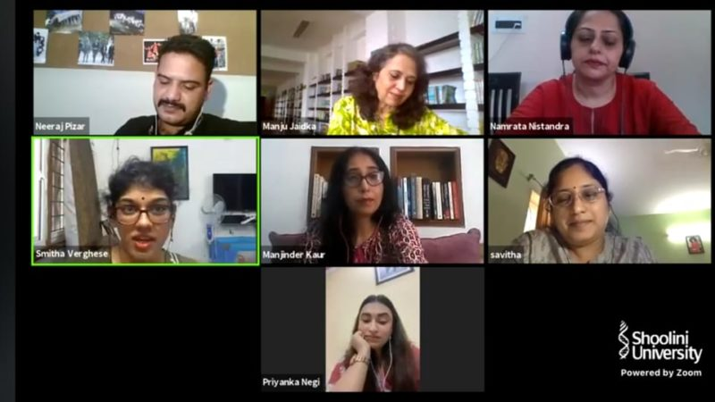 Webinar on detective fiction concluded at Shoolini University